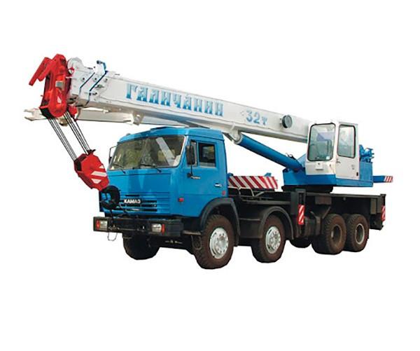 Аренда автокрана грузоподъемностью 32 тонн