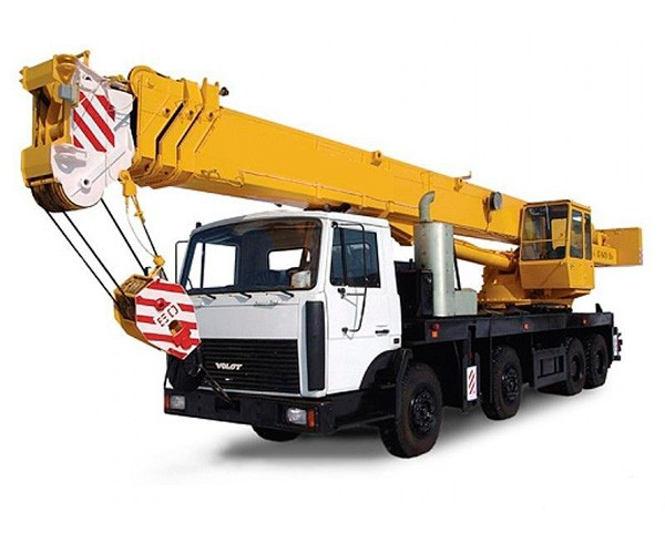 Аренда автокрана грузоподъемностью 50 тонн